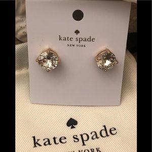 🆕Kate Spade ♠️ clear gum ball earrings🦢